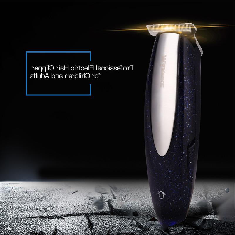MARSKE Clipper Stainless Steel <font><b>Blade</b></font> Hair <font><b>Beard</b></font> Trimer Machine Haircut