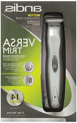 Andis Beard/Hair Trimmer Kit, Model