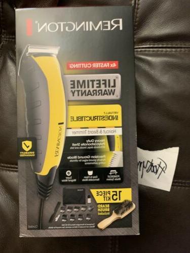 virtually indestructible haircut beard trimmer 15 piece