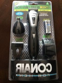 Conair for Men Lithium Beard and Mustache Trimmer~New~Sealed