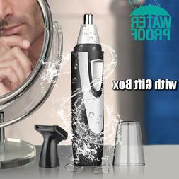 Max Men Personal Nose Hair Trimmer Remover Waterproof Beard