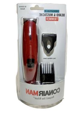 Conair Men Grooming BEARD MUSTACHE Hair Cut Trimmer Clipper