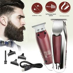 Men Hair Electric Clipper Trimmer Cutter Cutting Machine Bea