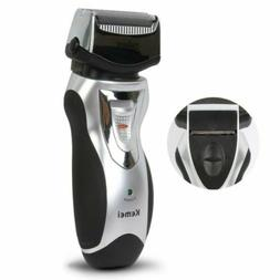 Men Rechargeable Electric Shaver 2Blade Razor Hair Beard Rem