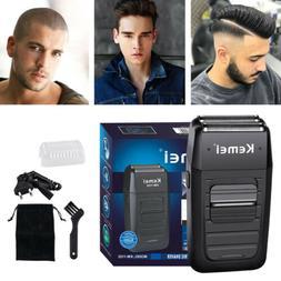Men's Electric Dual Foil Shaver Comfort Series Beard Trimmer