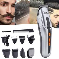 Men's Hair Clipper Set Shaver Grooming Kit Nose Beard Trimme