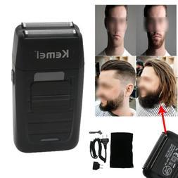 Mens Electric Dual Foil Shaver Comfort Beard Trimmer Razor R
