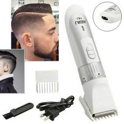 Men's Rechargeable Pro Wireless Hair Trimmer Beard Clipper B