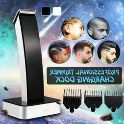 KEMEI Men Wireless Electric Rechargeable Hair Clipper Trimme