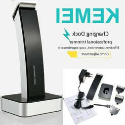 KEMEI Men Wireless Electric Rechargeable Hair Clipper Trimme
