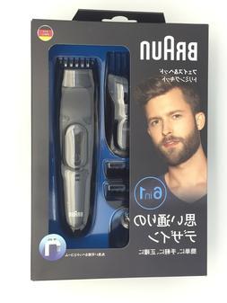 BRAUN MGK3020 6In1 Hair Beard Trimmer for Men_ff10