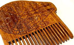 Millennium Falcon Beard Comb Star Wars Blueprint - Beard Gai