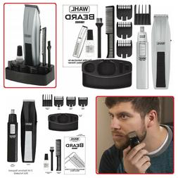 WAHL MUSTACHE AND BEARD TRIMMER Mens Compact Shaver Ear Nose