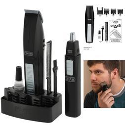 Wahl Mustache And Beard Trimmer Set Hair Cut Clipper Kit Ear