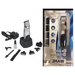 New Wahl 9916-1008 Beard and Mustache Groomsman Trimmer - Br