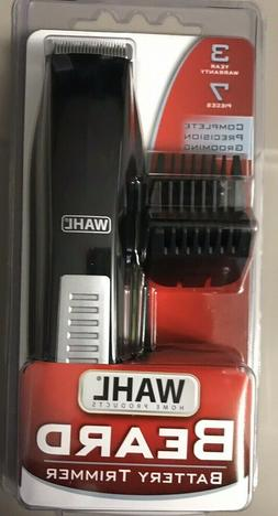 "New WAHL Battery Beard 7-Pieces Trim/Trimmer Kit ""Travel Siz"