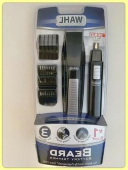 New WAHL Beard Trimmer with Bonus Personal Trimmer Shaver Ki