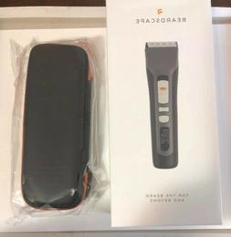 New Beardscape Men's Beard & Hair Digital Trimmer w/ Travel