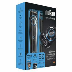 NEW!!!! Braun BeardTrimmer Beard Trimmer & Hair Clipper BT50