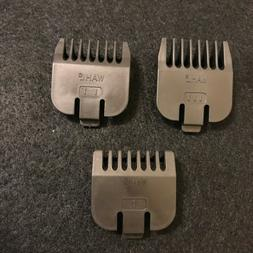 New Genuine Wahl Replacement 3 Piece Beard Stubble Trimmer G