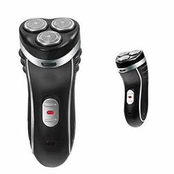 New Men 3 Head Rotary Bauer Cordless Shaver Rechargeable Tri