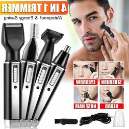 Nose Ear Hair Trimmer Beard and Eyebrow Clipper Kits for Men