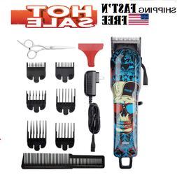 Professional Cordless Hair Clippers Beard Trimmer For Men Li