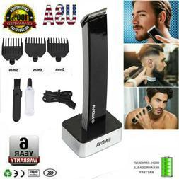 Professional Electric Cordless Hair Clipper Beard Trimmer Sh