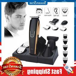 Professional Rechargeable Hair Clipper trimmer Men Haircut B