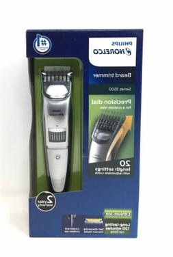 Philips Norelco QT4018/49 Series 3500 Beard Trimmer, Silver,