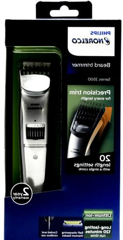 Philips Norelco QT4018/49 Series 3500 Beard Trimmer - Silver