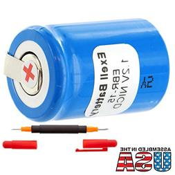 Exell 1.2V Razor Battery For Norelco 138-10591, 815RX, 815RX