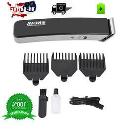 rechargeable cordless hair cut clipper trimmer men