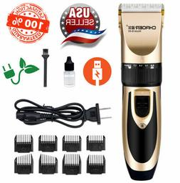 Rechargeable Electric Clipper Trimmer Men Beard Haircut Groo