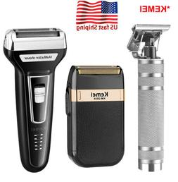 Rechargeable Electric Hair Clipper Shaver Beard Razor Trimme