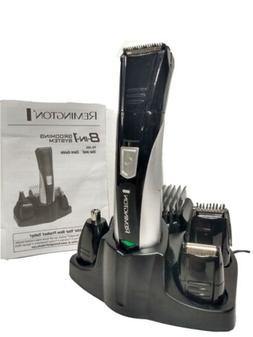 Remington Rechargeable Hair Clipper beard trimmer Men 8-in-1