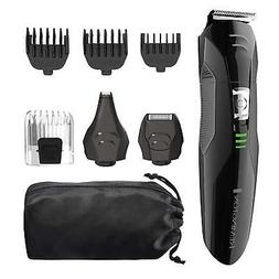 Rechargeable Men Grooming Kit Beard Combs Mustache Trimmer E