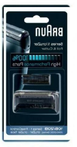 Braun Replacement Foil & Cutter - 10B, Series 1,FreeControl