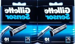 Gillette Sensor Blade Refill Cartridges 20-Count