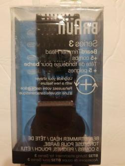 Braun Series 3 Beard Trimmer Head + 5 Combs, BT32 Styling At