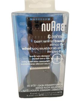 Braun Series 3 BT32 Beard Trimmer Head Attachment & 5 Combs