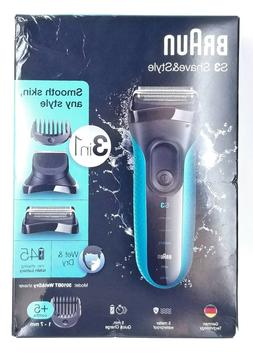 Braun Series 3 Shave & Style 3010BT Rechargeable Electric Fo