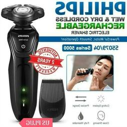 PHILIPS Series 5000 Wet and Dry Electric Shaver Cordless Bea