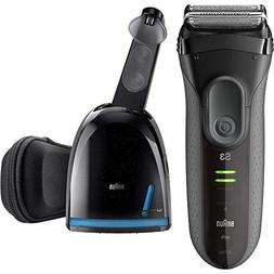 Braun Series 3 Shaver with Clean & Charge Station, Model 307