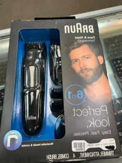 Braun Six-in-One Beard Trimmer Ear and Nose Hair Clipper Att