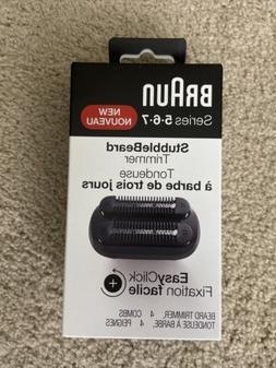 Braun StubbleBeard Trimmer Attachment SERIES 5,6,7