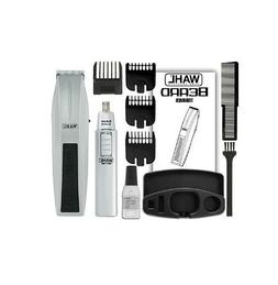 Wahl Trimmer Mustache & Beard 12 Pieces Battery With Nose Tr
