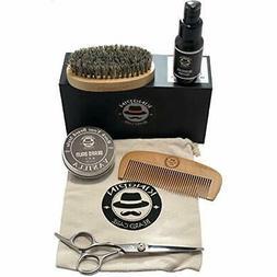Ultimate Beard Kit - Groomer Oil For Trimmer Vanilla Facial