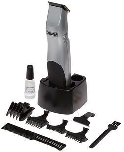 9906-717 Wahl Groomsman Beard/Mustache Trimmer for Men Batte