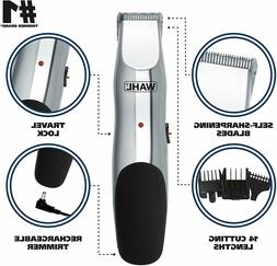 Wahl Beard and Mustache Trimmer, Cordless Rechargeable Facia